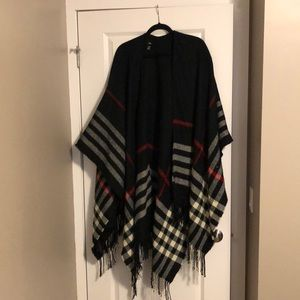 Plaid wrap